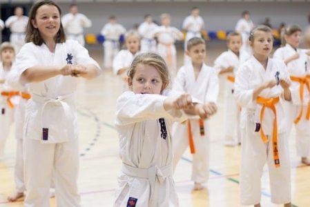 Dzieci w Karate